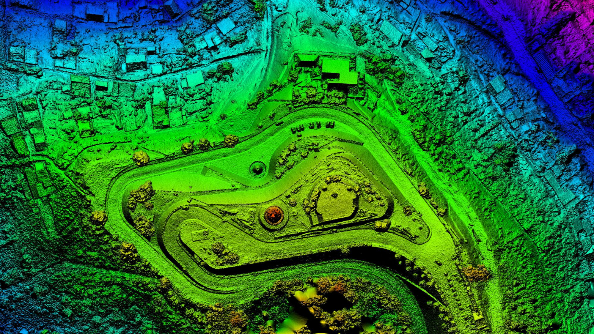 3d drone visualization